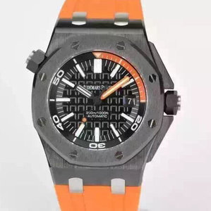 Jf factory reproduces Audemars Piguet 15707 original forged carbon fiber + titanium alloy! Orange