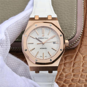 OM Audemars Piguet Royal Oak 15400 Series Original Edition 1-1 Open Mold Men's Watch Leather Strap Automatic Mechanical Movement