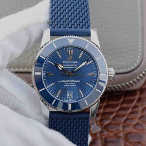 "GF Breitling Super Ocean Culture II 42mm watch, the family's ""water ghost""-the bezel made of polymer wear-resistant ceramics is durable and consumes a lot of time."