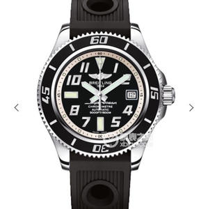 GM Breitling SUPEROCEAN42 Superocean 42 watch series Superocean 42 watch inner ring, with yellow, red, blue, black and white
