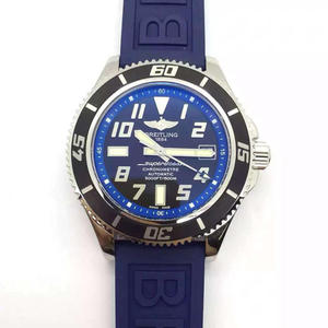 Breitling Superocean series 2836 automatic mechanical movement tape men's mechanical watch.