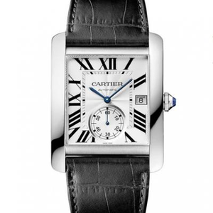 BF factory Cartier tank series diamond Andy Lau The same mechanical men's watch white face model
