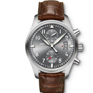 IWC pilot IW387802. ASIA7750 mechanical automatic movement men's watch