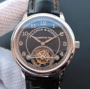 LH Lange u0026 Co. 1815 Series 730.32 Sandblasted Limited Edition Manual Tourbillon Movement Men's Watch.