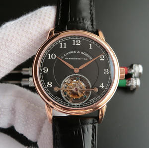 LH Lange 1815 Series 730.32 Manual Tourbillon Belt Watch.