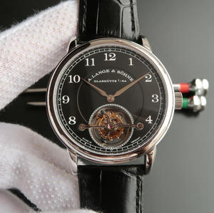 LH Lange 1815 series 730.32 with manual Tourbillon men's mechanical watch.