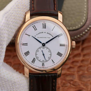 MKS Lange Classic 1815 Series Independent Small Seconds Men's Mechanical Watch, one of the top replica watches in rose gold