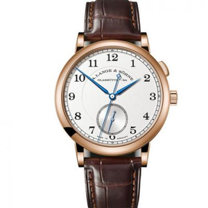 MKS Lange Classic 1815 series independent small second dial men's mechanical watch rose gold one of the top replica watches