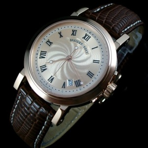 Breguet MARINE series men's watch automatic mechanical men's watch 18K rose gold watch Swiss movement