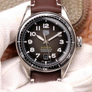 KKF TAG Heuer Autavia, automatic mechanical movement, men's watch, belt watch