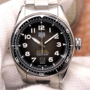 KKF TAG Heuer Autavia, automatic mechanical movement, men's watch, stainless steel strap