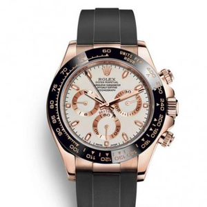 Rolex Daytona V8 Ultimate Edition M116515ln-0014 Rose Gold Opalescent Men's Mechanical Watch Upgraded Version N Factory