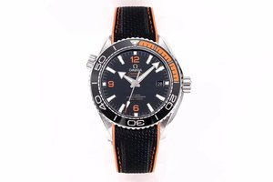 "VS Factory Omega Ocean Universe 600m ""Quarter Orange"" Men's Mechanical Replica Watch"